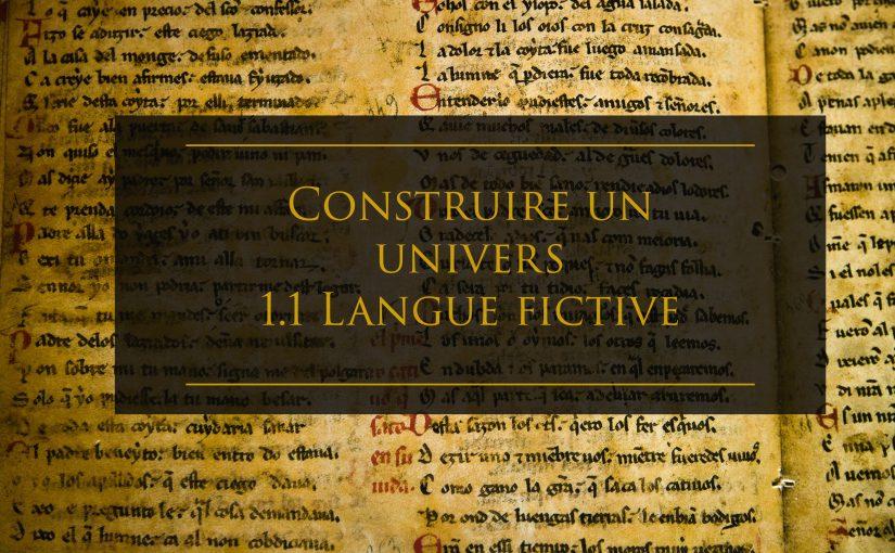 création univers langue